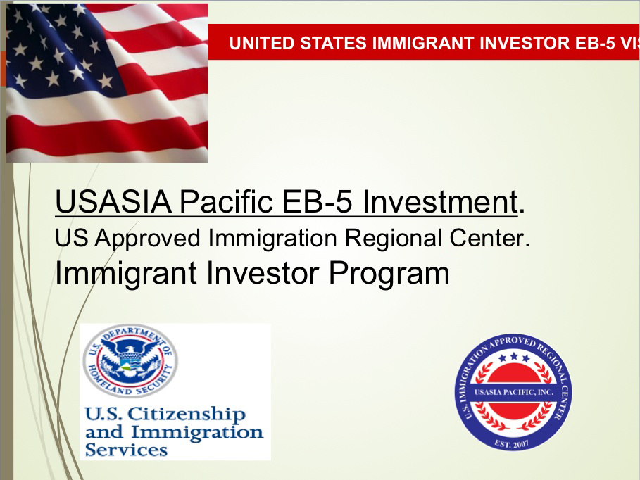 Immigrant Investor Program